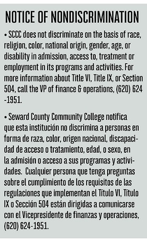 Notice of Nondiscriminatory Practices for operations and hiring